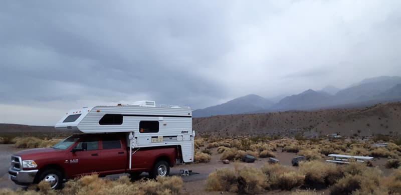 Mesquite Springs Campground in Death Valley National Park
