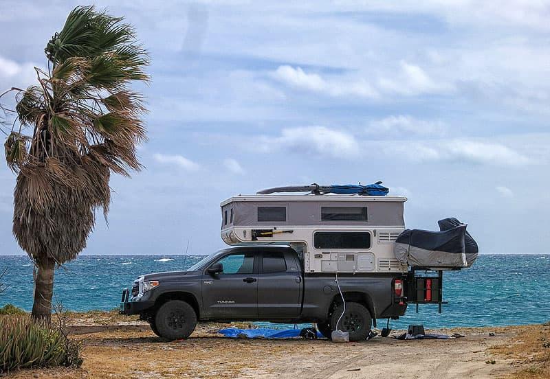 Cabo Pulmo camping, Mexico