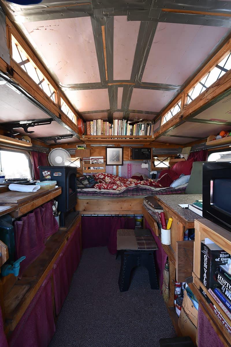 Gypsy Truck Camper Inside