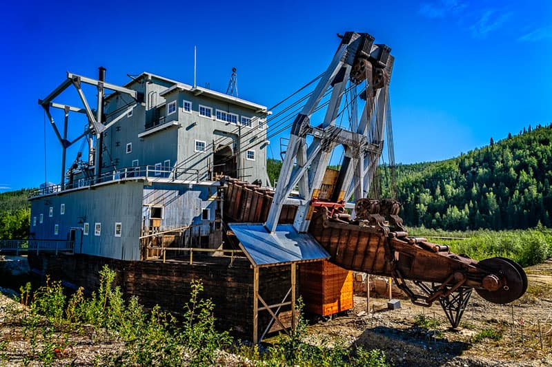 Dredge no 4, Dawson City, Yukon