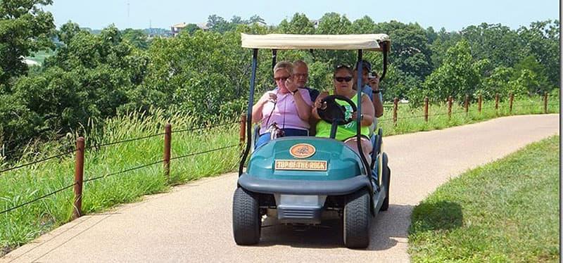Top of Rock golf course tour