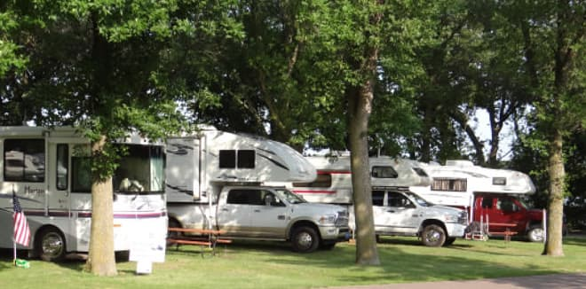 Flying Goose Campground in Minnesota