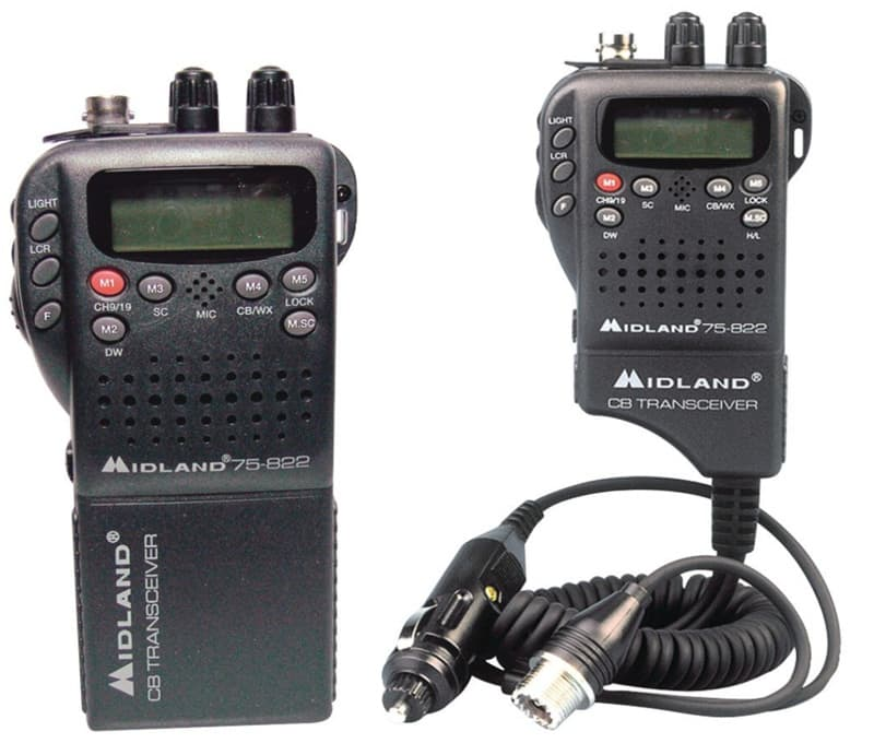 Midland portable CB radio