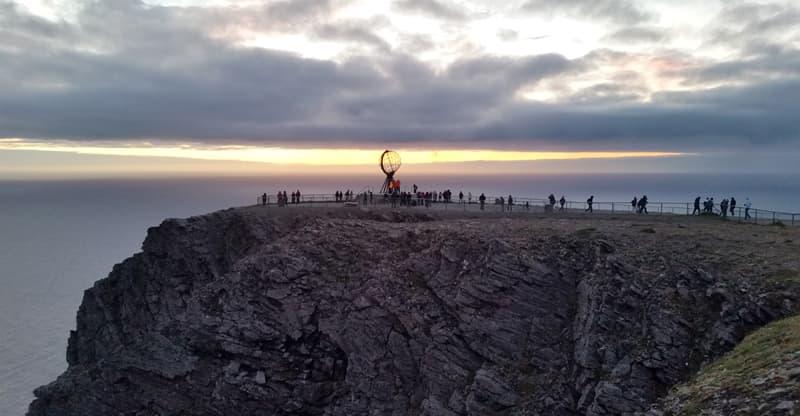 Midnight At Nordkapp