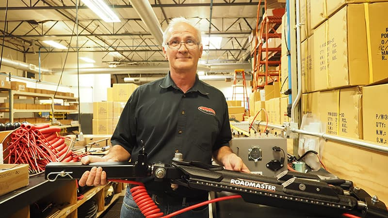 Mike Cannon, New Product Development at Roadmaster