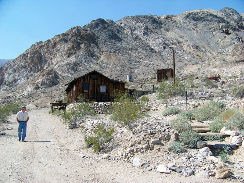 Minnetta Cabin Death Valley