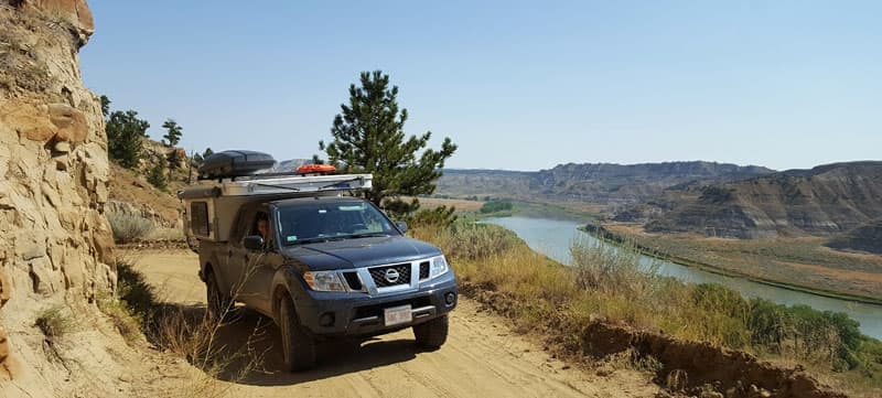 Missouri Breaks BackCountry Byway Montana