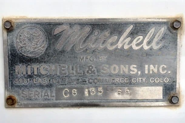 Mitchell Camper Tag, Found on eBay by Kevin Pinassi