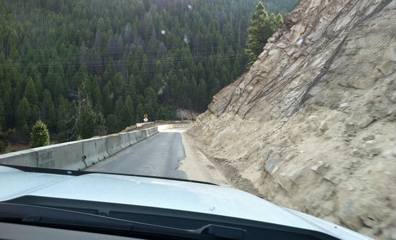 Montana Highway 43 Into Idaho