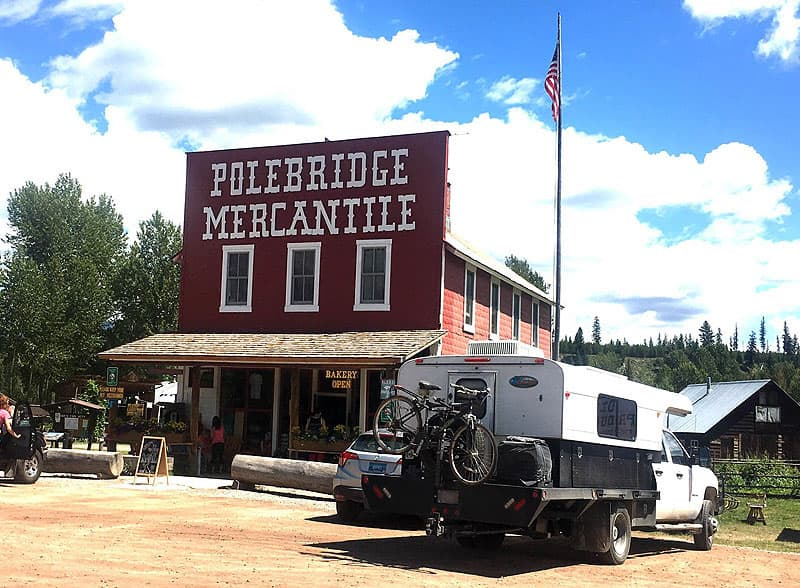 Polebridge Mercantile in Montana