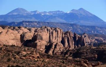 Monti La Sal Mountains near Moab