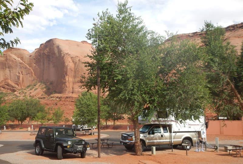 Monument Valley Bigfoot Campsite