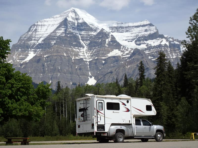 Mount Robson, Highway 16, British Columbia