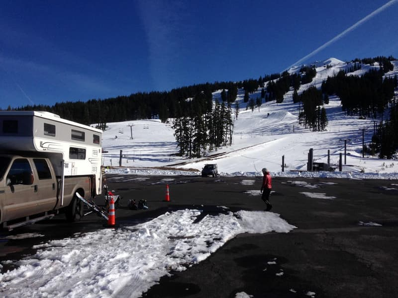 Mt Bachelor camping