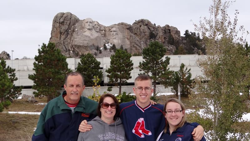 Mt Rushmore Coushaine Family