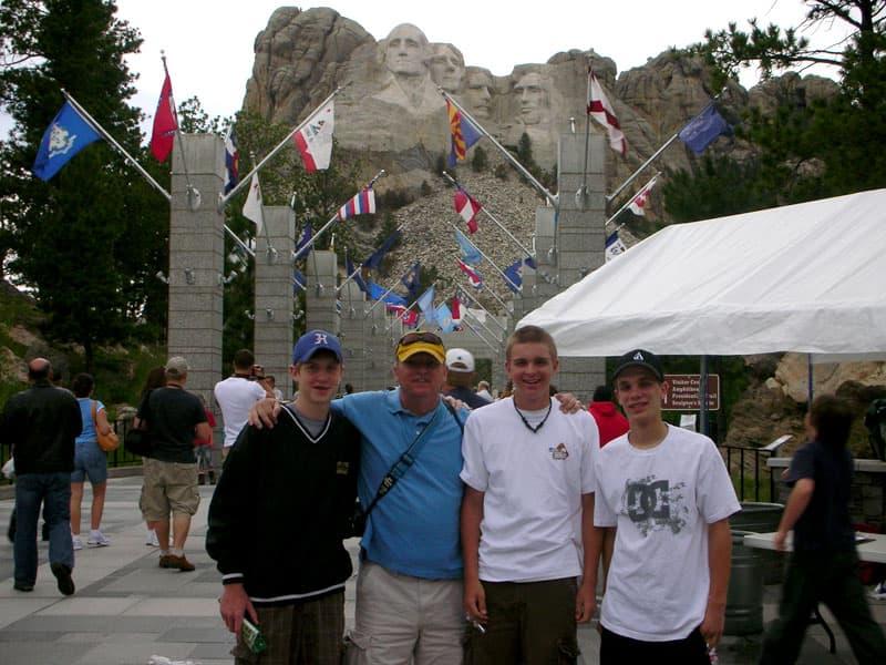 Mt Rushmore Visit Dyvig