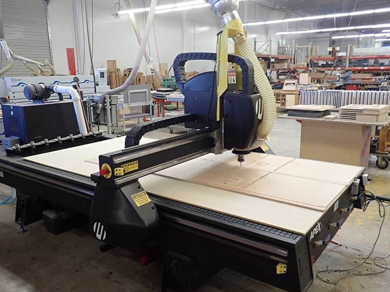 Multicam CNC Router In Action