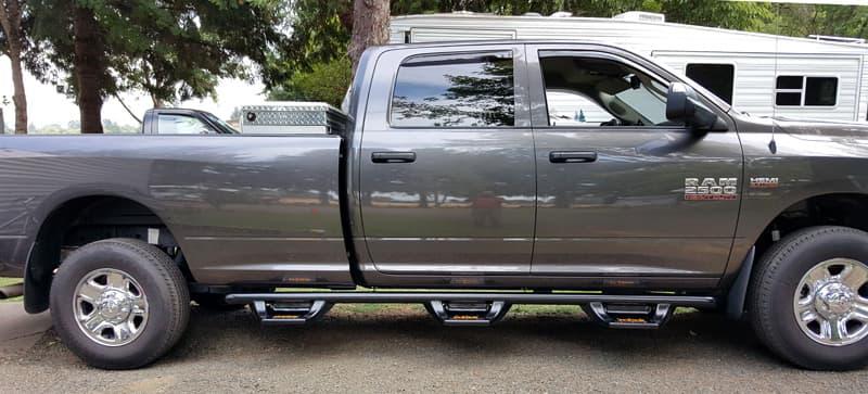 Truck Running Boards Shoe In Or Boot Truck Camper
