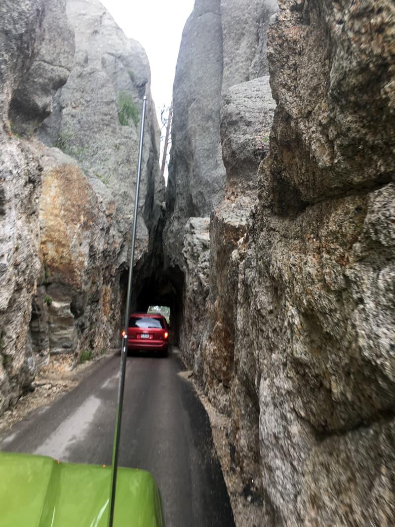 Narrow Tunnels Black Hills South Dakota