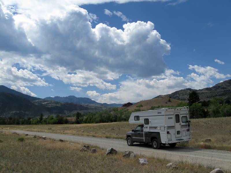 Near Gardiner, Montana