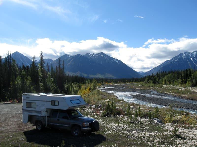 Near Haines Jct Yukon Canada