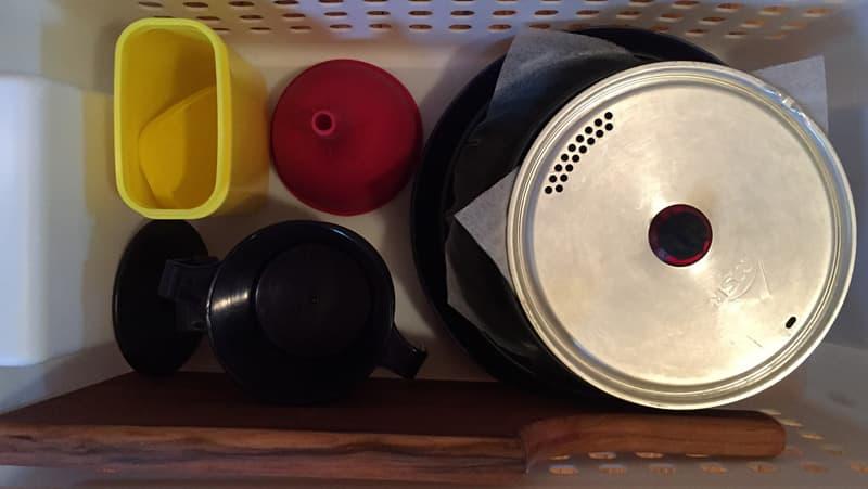 Nesting Kitchen Impliments