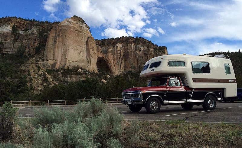 American Road Truck Camper in New Mexico