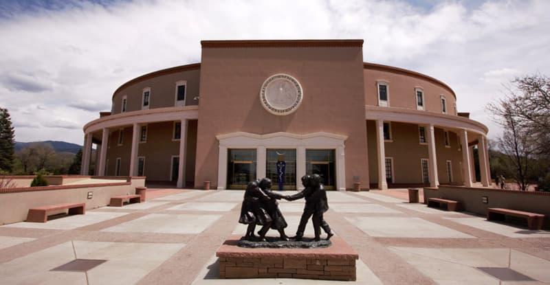 New Mexico Capitol in Santa Fe