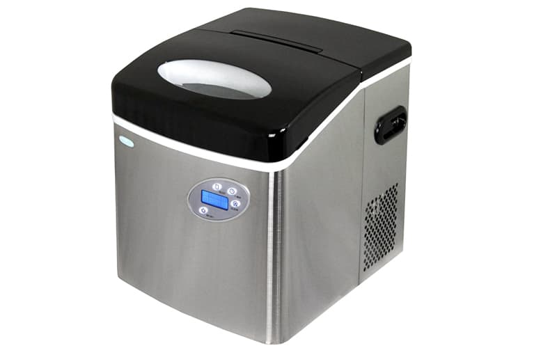 Newair ai 215ss stainless steel portable ice-maker