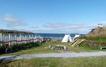 Newfoundland-L'Anse Aux Meadows Viking