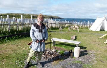 L'Anse Aux Meadows Viking settlement, Newfoundland