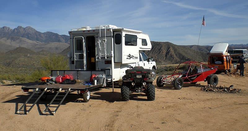 Four Peaks, east of Phoenix, Arizona
