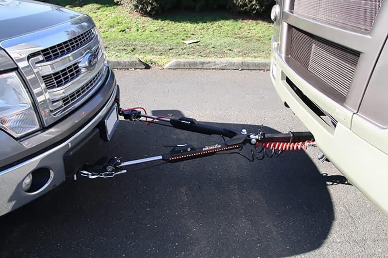 Nighthawk RV mounted tow bar