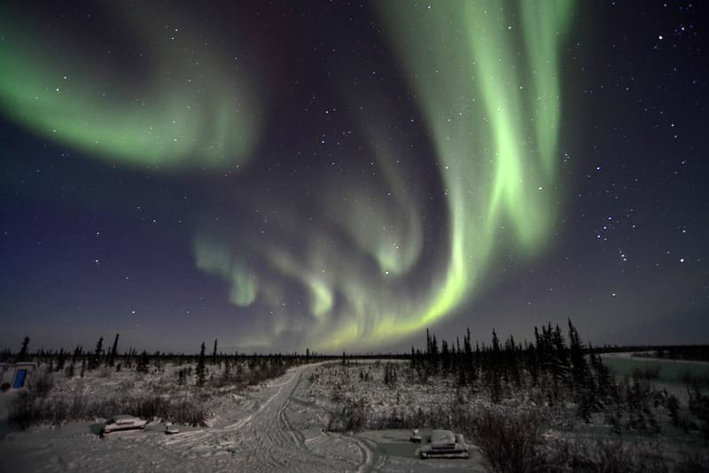 Nihtak Day Use Park, 17 km south of Inuvik, Northwest Territories