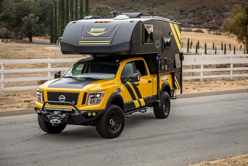 Lance 650 on Nissan Titan