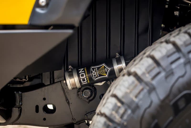 Icon shocks on Nissan Titan