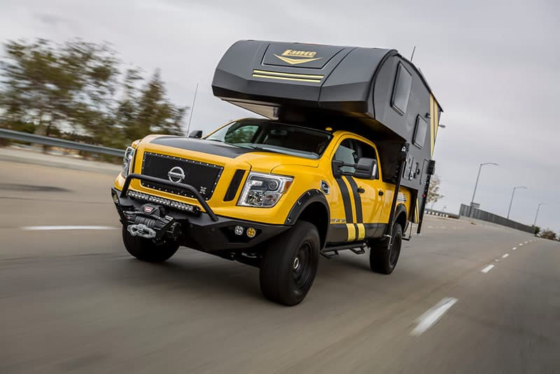 Nissan Titan and Lance 650 for SEMA