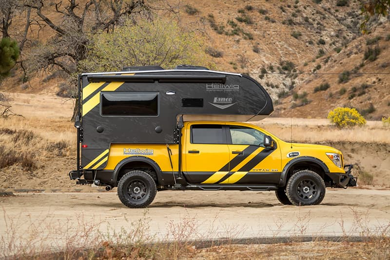Nissan Titan with Lance 650 camper