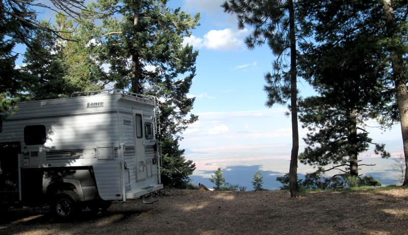 North Rim Grand Canyon Boondocking Site