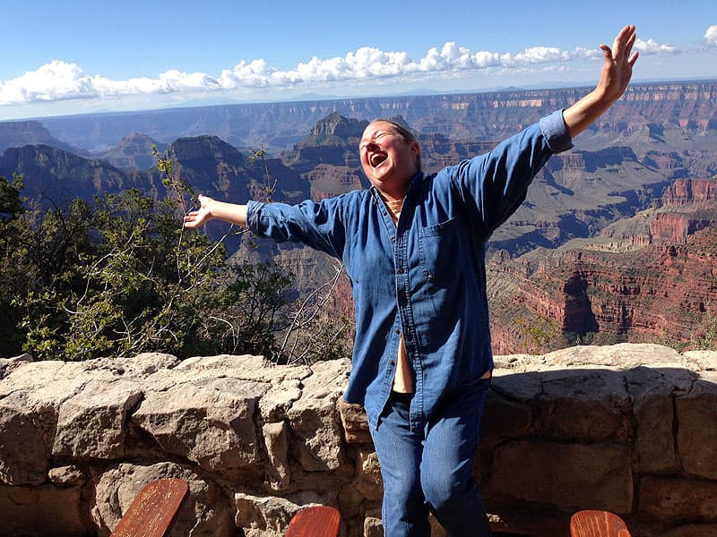 North Rim of the Grand Canyon glorious