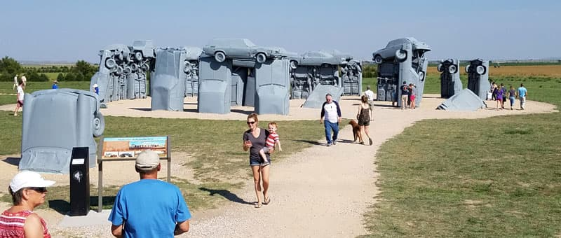 North Just Out Of Alliance Was Carhenge