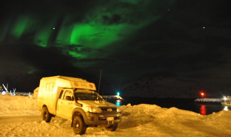 Northern Lights Norway Camping