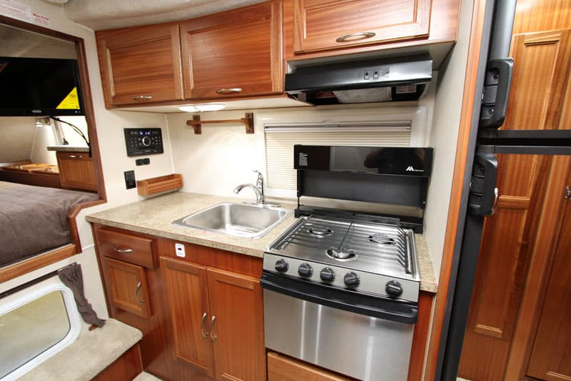 Northern Lite 10-2 EX Dry Bath stainless appliances