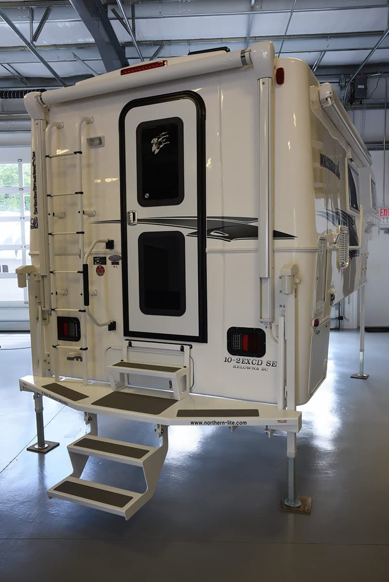 Northern Lite step system to get into camper