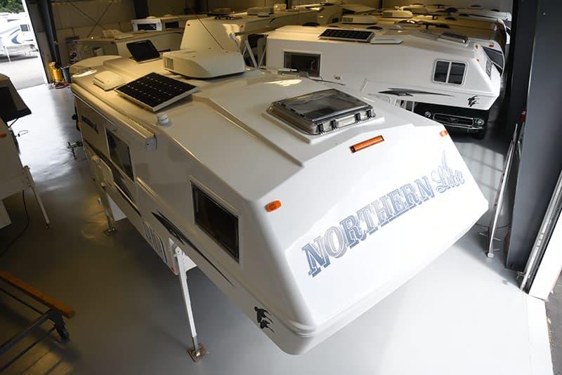 Northern Lite 10-2 EX roof design