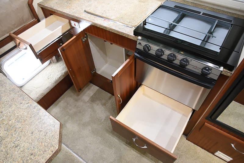 Northern Lite 10-2 kitchen storage drawers