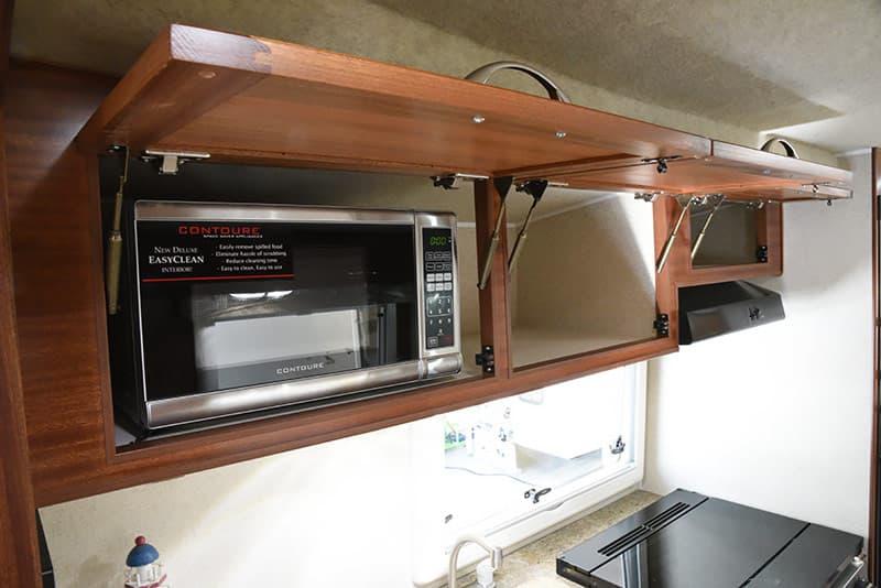 Northern Lite 10-2 cabinet storage in kitchen