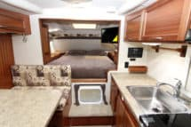 Northern Lite 10-2 EX CDSE camper interior