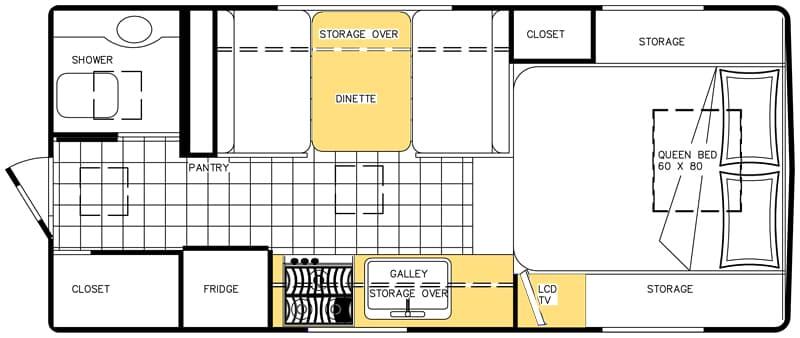 Northern Lite 10-2 CDSE EX floorplan