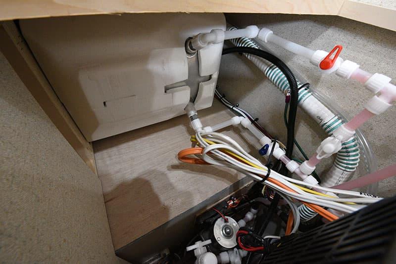 Northern Lite 8-11 EX dinette seat underneath